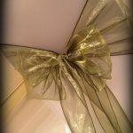 Chair covers and bows, Lily Special Events