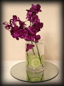 Centrepieces and decor Cylinder centrepieces, wedding, hire, glasgow, lanarkshire, decor