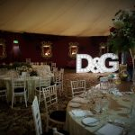 Large LED Letters Wedding venue dressing LED light up letters