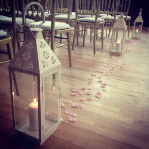 Centrepieces and decor Vintage lantern centrepieces, wedding, hire, glasgow, lanarkshire, decor