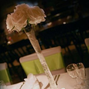 Centrepieces and decor Rose vase centrepieces, wedding, hire, glasgow, lanarkshire, decor