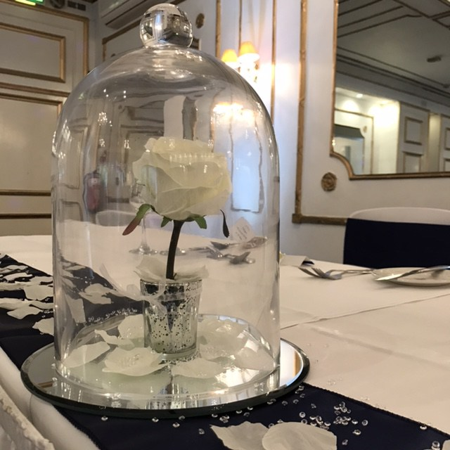 Centrepieces and decor Rose dome centrepieces, wedding, hire, glasgow, lanarkshire, decor