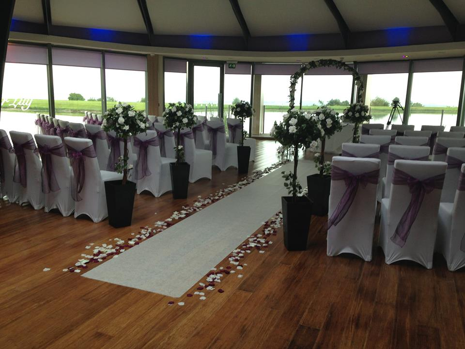 Wedding flower arch, floral, hire Glasgow, Lily Special Events