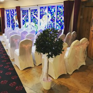 Centrepieces and decor Bay tree centrepieces, wedding, hire, glasgow, lanarkshire, decor