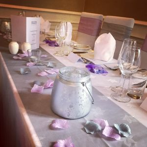 Centrepieces and decor tealight centrepieces, wedding, hire, glasgow, lanarkshire, decor
