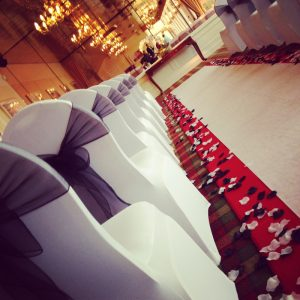 Centrepieces and decor Wedding aisle centrepieces, wedding, hire, glasgow, lanarkshire, decor