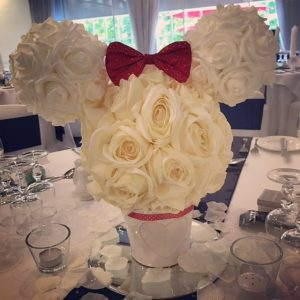 Centrepieces and decor Rose centrepieces, wedding, hire, glasgow, lanarkshire, decor