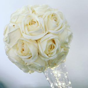 Tall flower rose centrepieces, hire Glasgow