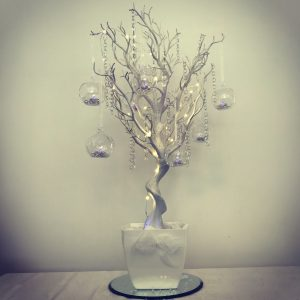 Wishing twig tree centrepeices from Lily Special Events